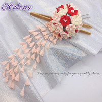 DIY Headdress Japanese Flower Kimono Headwear Accessories Traditional Tassels Hairwear Summer Yukata Hair Accessories