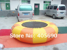 2 meters diameter water jumping bouncer,aqua trampoline,inflatable water trampoline