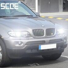 For bmw X5(E53)(E70) SCOE 2PCS Auto Car Light High Beam Super Bright Halogen Bulb Headlight Car Styling warm white