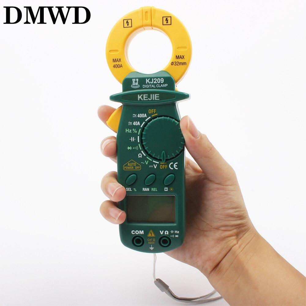 KJ209 small DC AC digital clamp meter portable pocket DC AC Clamp ammeters MULTIMETER