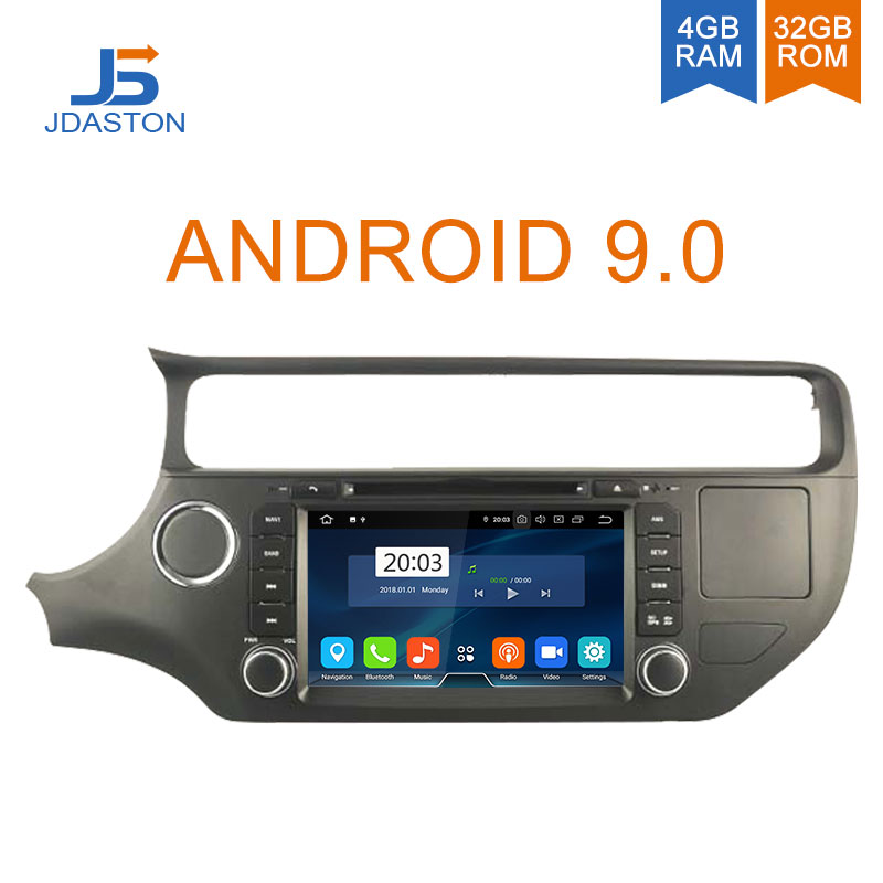 JDASTON 2 DIN Android 9.0 Car DVD Player For KIA RIO K3 2012 2013 2014 Octa Cores 4G+32G Car Radio Multimedia GPS Audio StereoJDASTON 2 DIN Android 9.0 Car DVD Player For KIA RIO K3 2012 2013 2014 Octa Cores 4G+32G Car Radio Multimedia GPS Audio Stereo