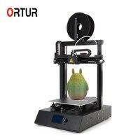 Китай Ortur Заводские металлические линейные направляющие промышленный 3d принтер с 24 в безопасности горячей кровати/автоматическое выравнив