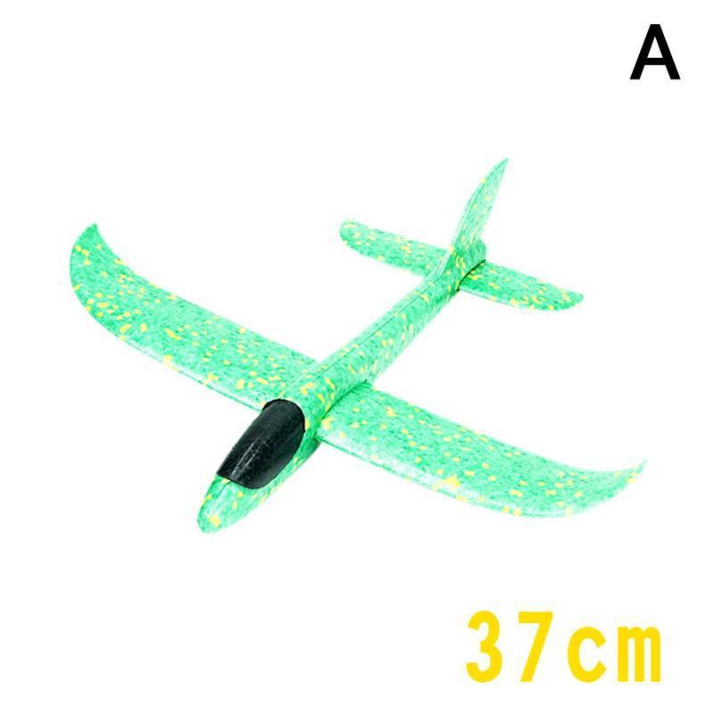 Большой 35 см ручной бросок самолет Летающий планер самолеты EPP самолет из пеноматериала модель вечерние сумки наполнители детские игрушки Открытый Запуск игра игрушка - Цвет: A
