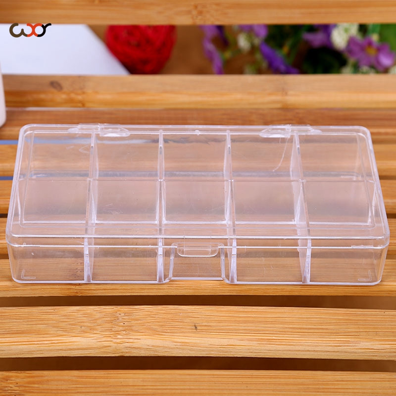 WXY Electronic Components Parts Jewelry Box Plastic Storage Boxes With  Dividers Christmas Ornament Storage 17.5x9x3cm  In Storage Boxes U0026 Bins  From Home ...