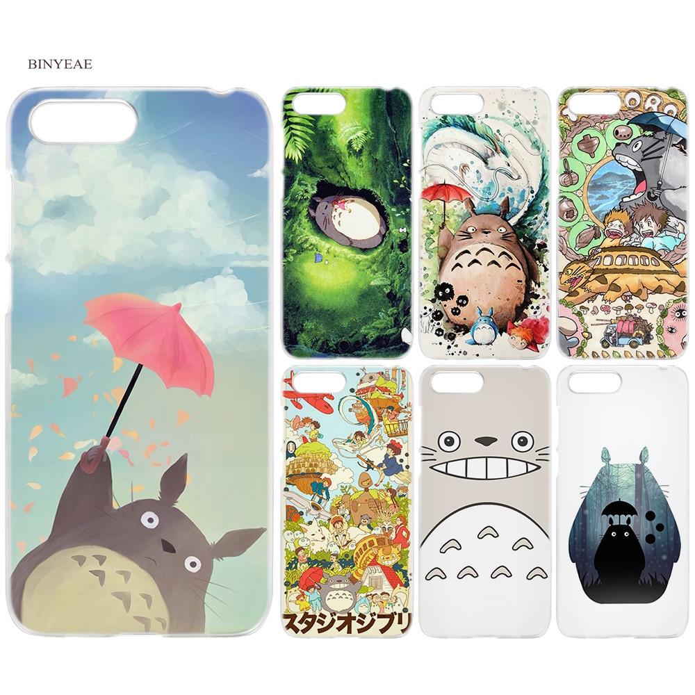 ⑤BINYEAE Studio Ghibli Ghiblies totoro neighbor Hard Case Cover ...