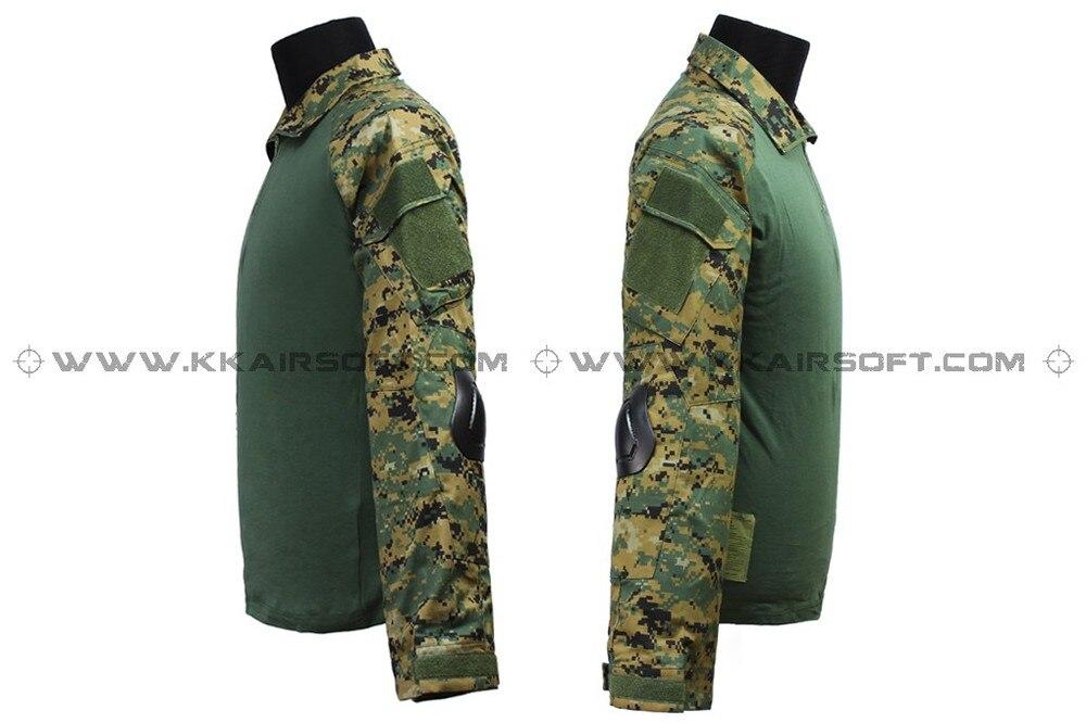 где купить us army military uniform for men EMERSON Combat Uniform Gen2 - (Marpat Woodland) em6913 по лучшей цене