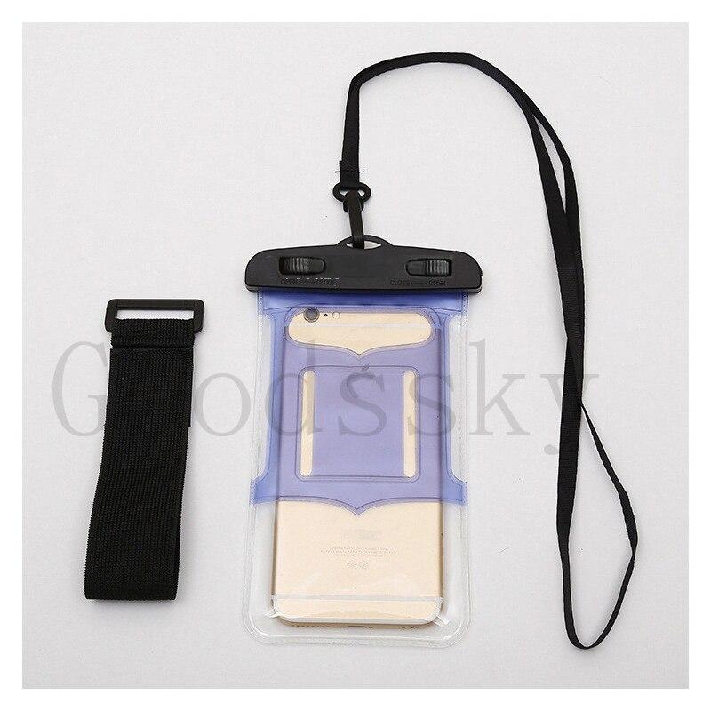 Teléfono impermeable de pvc mate case para huawei p7 p8 lite p9 p10 7 8 s g7 sub
