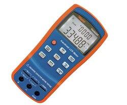Ręczny wskaźnika pokrycia wypływów netto cyfrowy most miernik indukcyjności pojemność odporność na wskaźnika pokrycia wypływów netto QZD ESR stopni Tester 100 KHz USB TH2822C