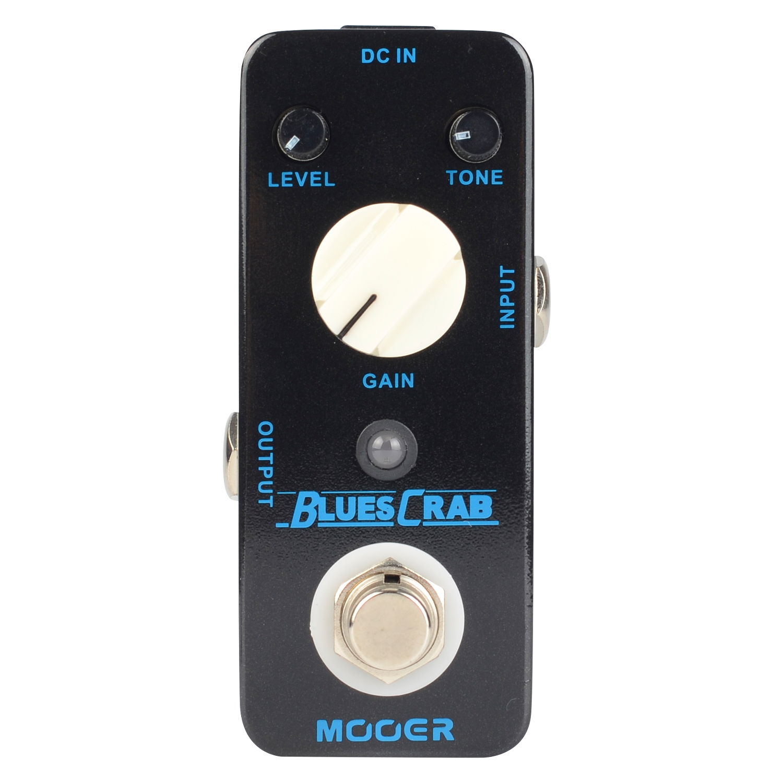 Mooer Blues Crab Blues Overdrive Electric Guitar Effect Pedal True bypass MBD1 mooer blue faze fuzz pedal electric guitar effect pedal true bypass mfz1