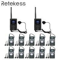 Беспроводная система конференц-связи RETEKESS синхронная интерпретация для конференц-зала бизнес fm-радио для гид-гида