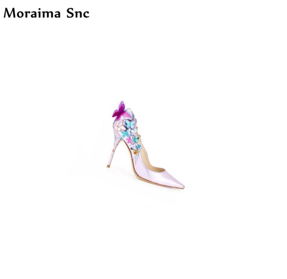 2018 Mariage Papillon noeud Cuir Peu sur Pu Bout Femmes Snc Sexy Pictures Slip Pompes Date Pointu As Profonde Chaussures En De Décoration Moraima qXR5O6wq