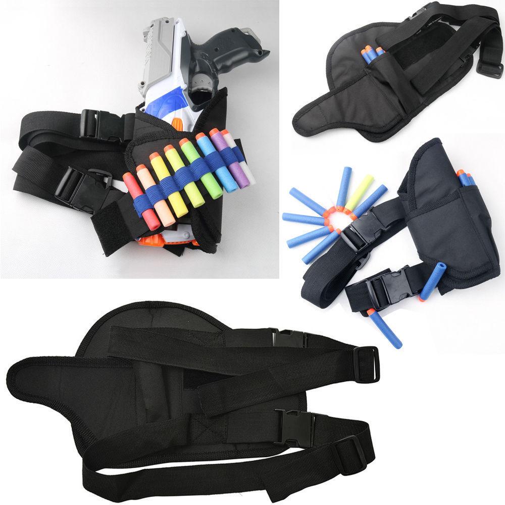 1pc Waist Gun Set/1pc Back Bag Gun Set to carry along lots of extra firepower Pack