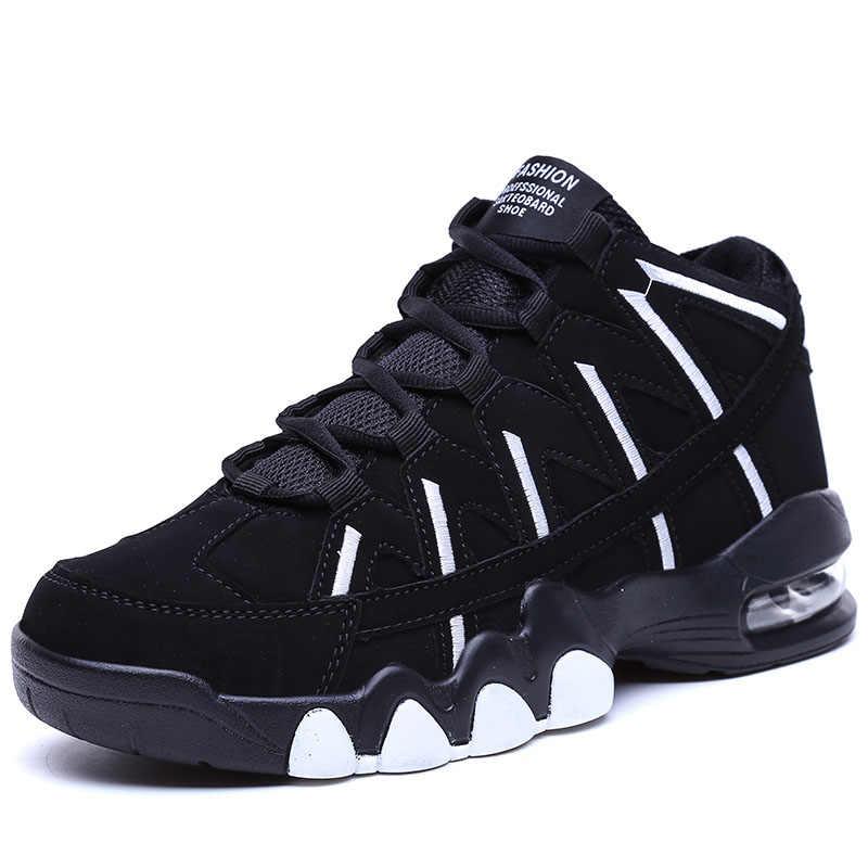Vrouwen Luchtkussen Basketbalschoenen Mannen Jordan 1 Retro Laarzen Ademend Outdoor Sneakers Mand Homme antislip Training schoenen