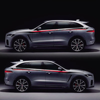 TAIYAO car styling sport car sticker car accessories for Jaguar F PACE E PACE Sport Both Side Sticker Car styling