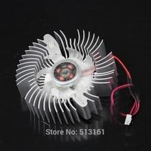 2 Pieces/lot 12V 2Pin PC Video Graphics VGA Heatsink Card 55mm VGA Fan Cooler все цены