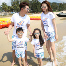 Family Matching Outfits Summer Family Clothing Set Family Look Family Matching Clothes For Boy / Girl / Women / Men