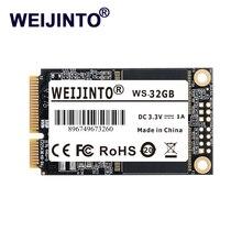 WEIJINTO mSATA SSD 120 ГБ 240 ГБ 64 Гб 128 ГБ 256 ГБ 480 512 1 ТБ мини SATA Внутренний хард-StateHard накопитель 32 ГБ для ноутбука сервер