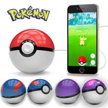 Mobile phone game Cosplay Pokeball toy funny Power Bank 12000 mah Pokemon go Ball LED light Fast Charger for mobile phones