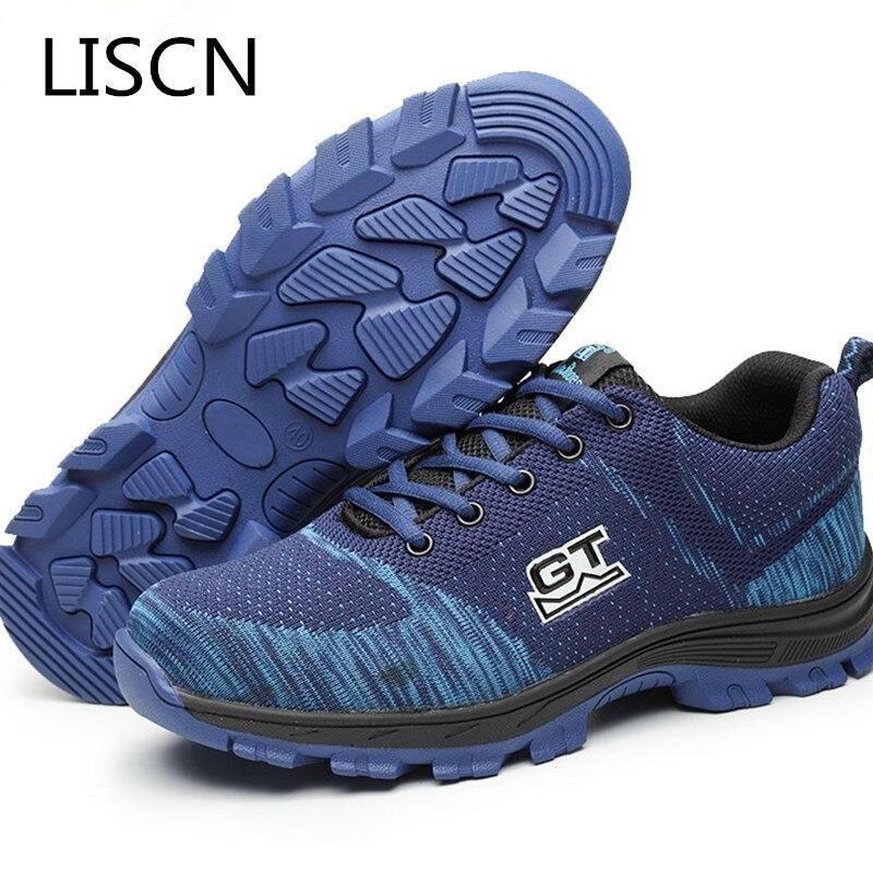 acheter populaire 3dc8d 99b45 Chaussures Respirant Semelle De Au Sécurité 2 Preuve Hommes ...