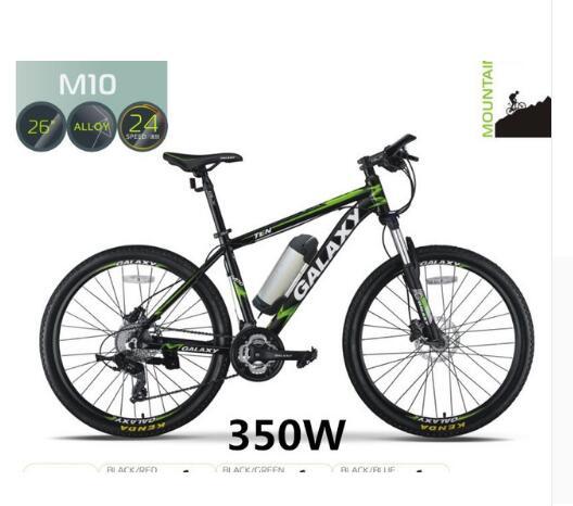 Olio freno 26 pollice mountain bike freno a disco batteria al litio bicicletta elettrica batteria auto modificate ciclomotore freno a disco 24 velocità