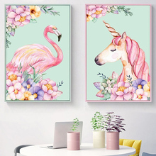 Diamond Painting Flamingo Full Sticking Cross - Stitch Embroidery 5D Cartoon Decor  Dropshipping