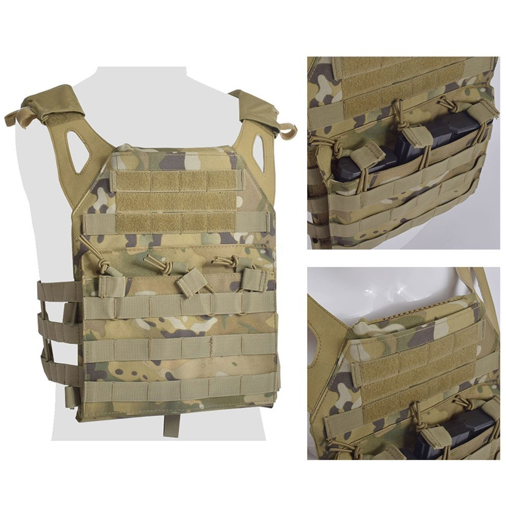 Body Armor JPC Plate Carrier Vest Ammo Magazine Chest Rig Airsoft Paintball Gear