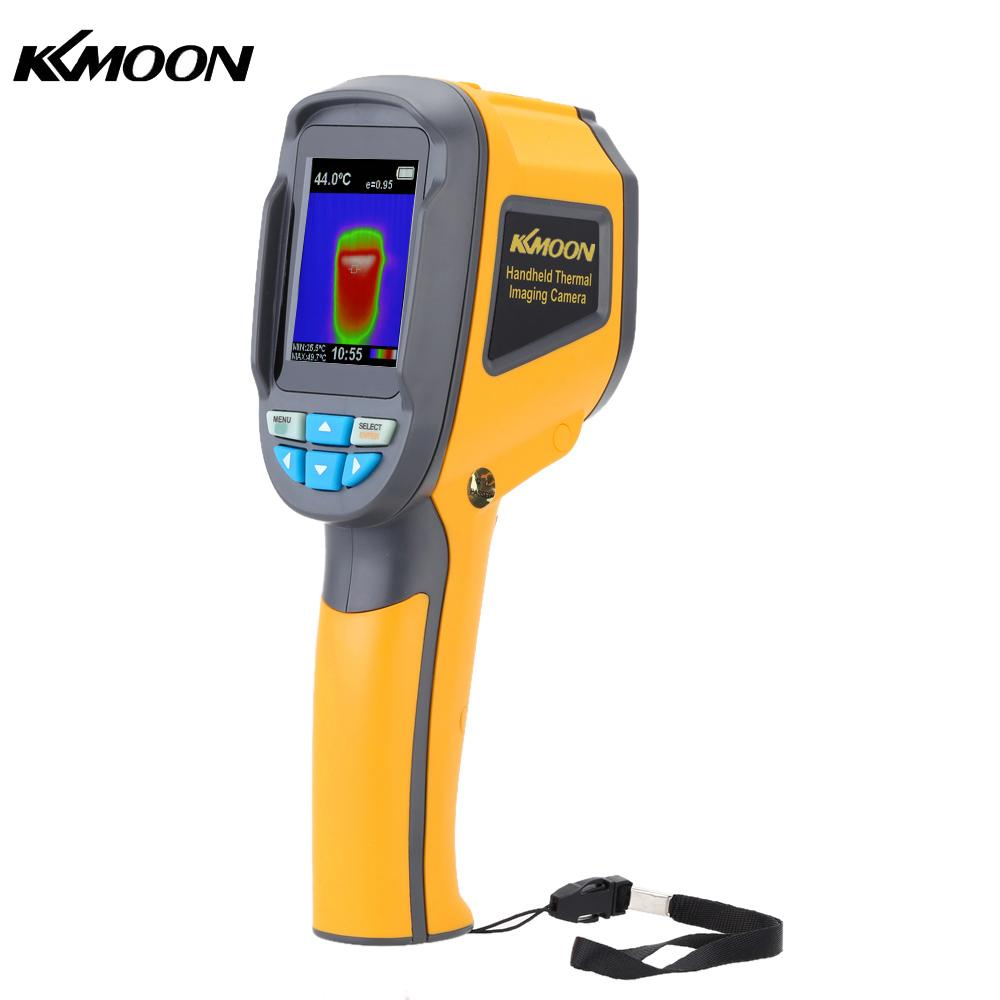 KKmoon Infrared Thermometer Handheld Thermal Imaging Camera HT 02 Portable IR Thermal Imager Infrared Imaging Device