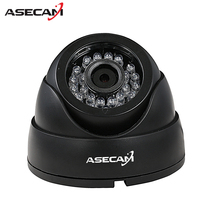 New HD IP Camera 1080P Security Small indoor Black Mini Dome Surveillance Camera CCTV IR Night Vision Onvif WebCam ipcam