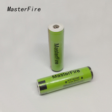 18PCS/LOT MasterFire 100% Original Protected 18650 NCR18650BE 3200mah 3.7v Lithium Rechargeable Battery with PCB For panasonic