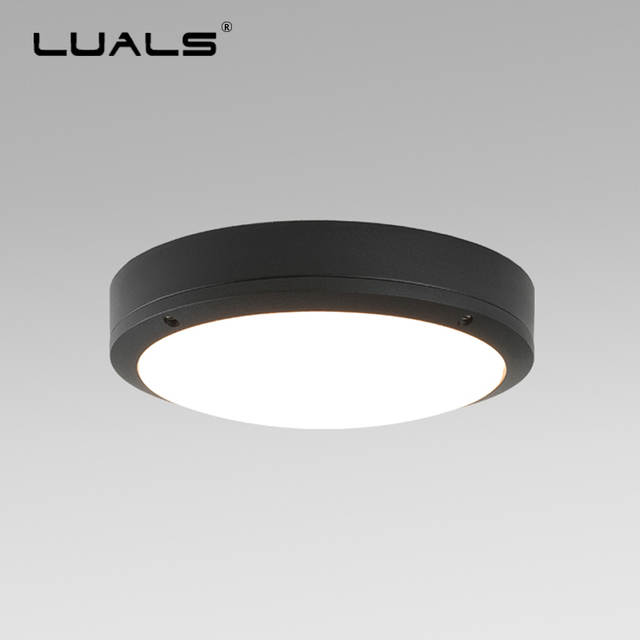 Us 46 24 32 Off Modern Ceiling Lights Outdoor Waterproof Lamp Led Lighting Aluminum Light Body Lamps Terrace Fixture In
