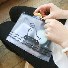 Получать курица конверт корея папка каваи пвх прекрасный творческий школьные прозрачный