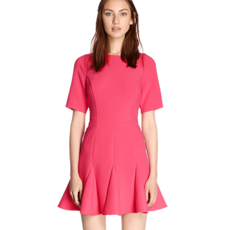 Popular Hot Pink Dress-Buy Cheap Hot Pink Dress lots from China ...