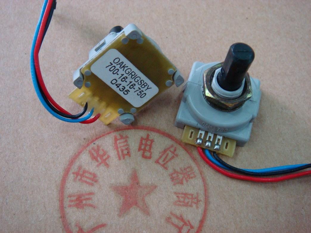 Optical encoder OAKGRIGSBY 700-16-16-750  Step 16 points medical device encoder switchOptical encoder OAKGRIGSBY 700-16-16-750  Step 16 points medical device encoder switch