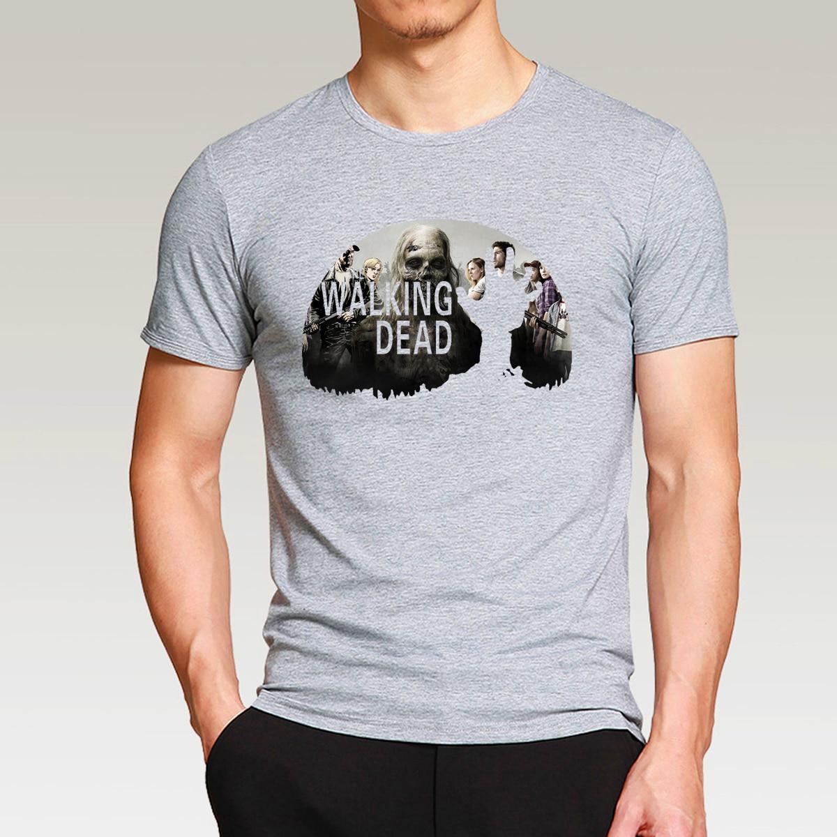 the walking dead printed men t shirt bestseries shop. Black Bedroom Furniture Sets. Home Design Ideas