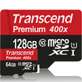 Transcend High Quality 128GB 64GB Micro SD card Class10 UHS-1 SDXC High Speed Up to 60MB/s TF Cards 128 GB Flash Memory Card