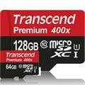 Transcend de alta calidad 128 gb 64 gb tarjeta sd micro sdxc uhs-1 de de alta Velocidad de hasta 60 MB/S TF Tarjetas de 128 GB de Memoria Flash tarjeta