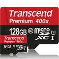 Transcend de alta qualidade 128 gb 64 gb cartão micro sd class10 uhs-1 sdxc alta Velocidade de até 60 MB/s Cartões TF 128 GB de Memória Flash cartão