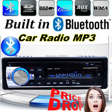 12V 1 din car radio player  car audio stereo mp3 player Support BLUETOOTH handfree with USB SD AUX IN port