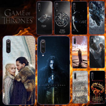 Ponsel Case untuk Xiao Mi Mi 9 8 Se 6 5 4 X C Plus Pro Lite Explorer Global versi Mi X Max 3 2 S Note 3 2 Game Of Thrones Cover(China)