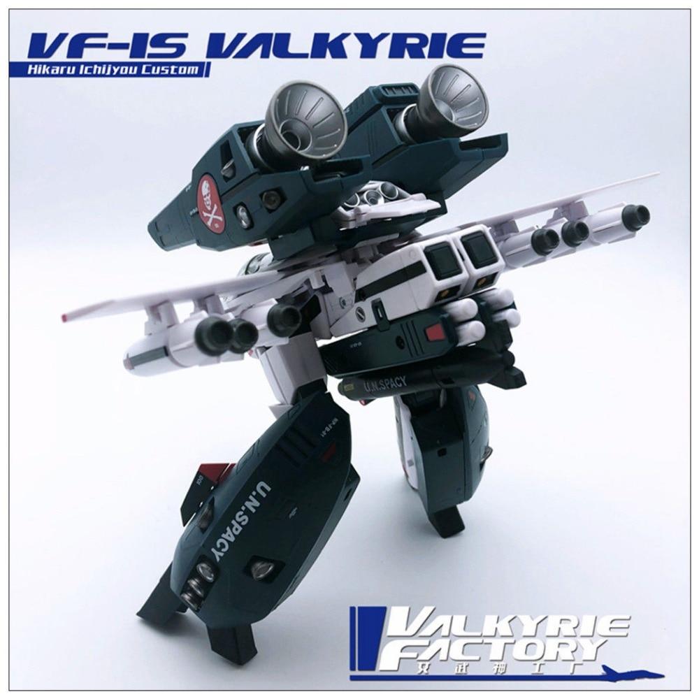 New Valkyrie factory 1//60 Macross ARCADIA VF-1S /& SSP Backpack full set Toy Ko