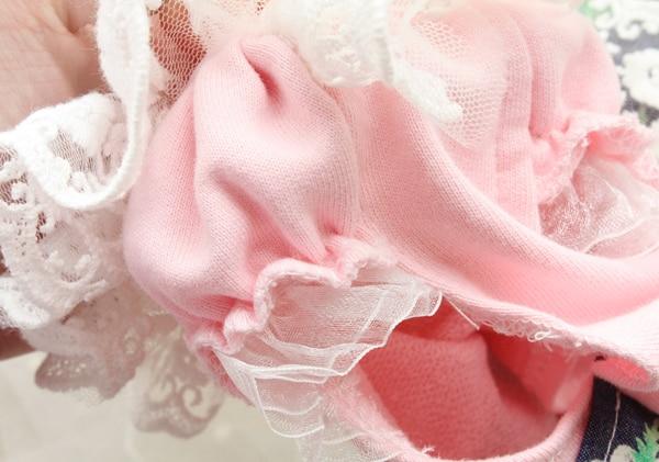 Transporti falas Daisy pak lule 3D lule dantella pantallona të gjera - Produkte për kafshet shtëpiake - Foto 3