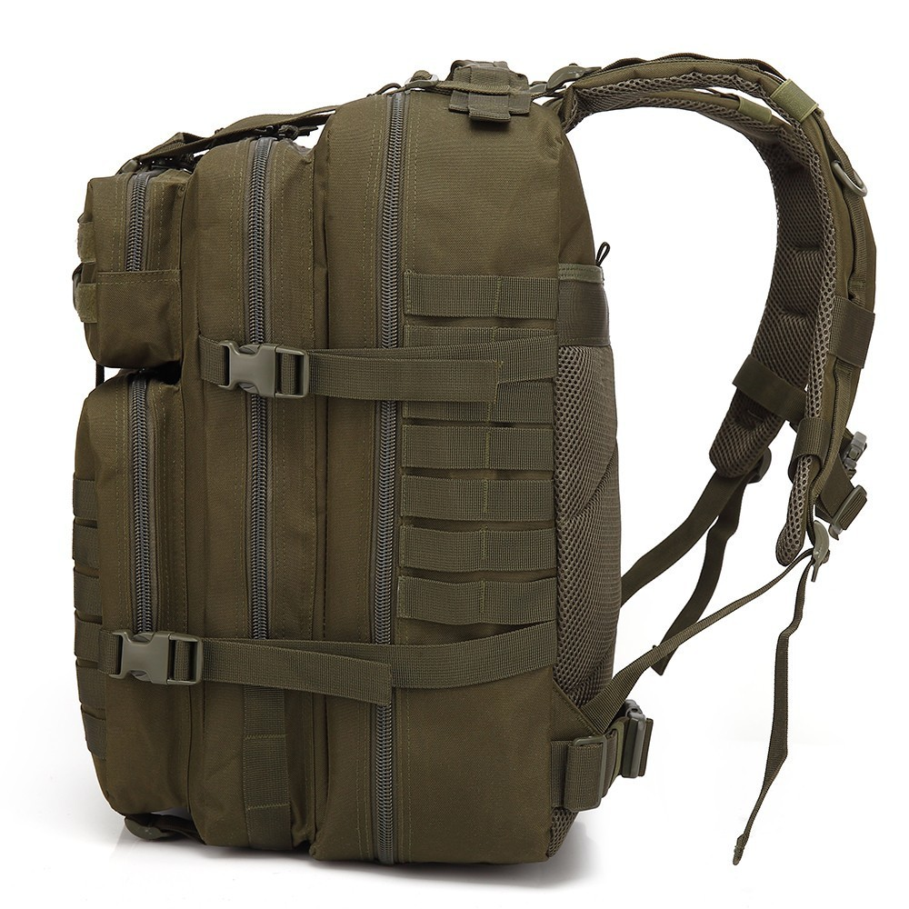 45L grande capacité homme armée tactique sacs à dos militaire assaut sacs en plein air 3P EDC Molle Pack pour Trekking Camping sac de chasse - 2