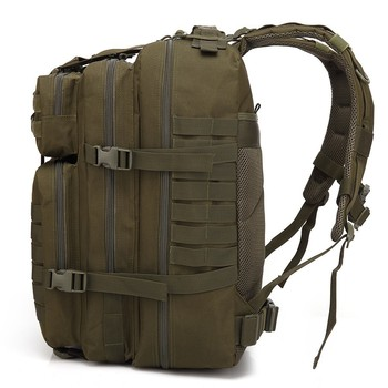50L Large Capacity Man Army Tactical Backpacks Military Assault Bags Outdoor 3P EDC Molle Pack