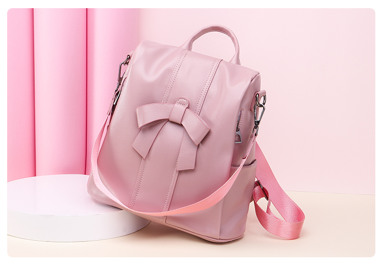 HTB1Wa IUNTpK1RjSZR0q6zEwXXat - Leisure Women Backpack High Quality Leather Lady Anti Theft Shoulder Bags Lovely Girls School Bags Women Traveling Backpack