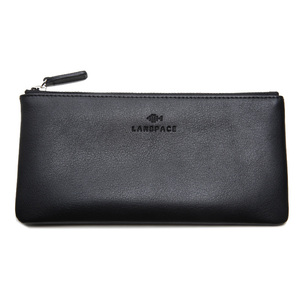 Image 5 - LANSPACE mens leather wallet brand thin purse fashion designer coin purses holders