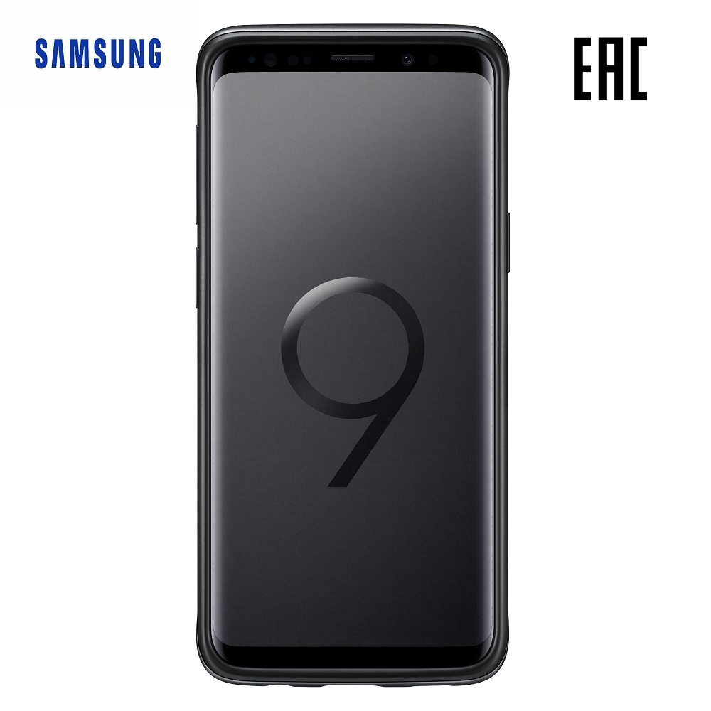 Case for Samsung Protective Standing Cover Galaxy S9 EF-RG960C Phones Telecommunications Mobile Phone Accessories mi_10000055345 enkay matte pet screen protector protective film guard for samsung galaxy mega 6 3 i9200 i9208