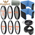 KnightX FLD UV CPL Star Close up 52mm 58mm Lens Filter for Canon Nikon d5200 d5300 d3200 d3300 d5500 Canon d1200 Sony SLR camera