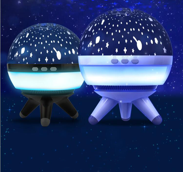 1pcs Fantasy Planet Night Light Rotating Starry Sky/Space/Ocean Projector LED New Exotic Creative Products