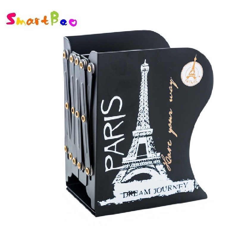 Metal Bookend Big Ben Book Standing Stretching Adjustable Book Stand Paris Tower Book Organizer Office Organizer maisy s big flap book