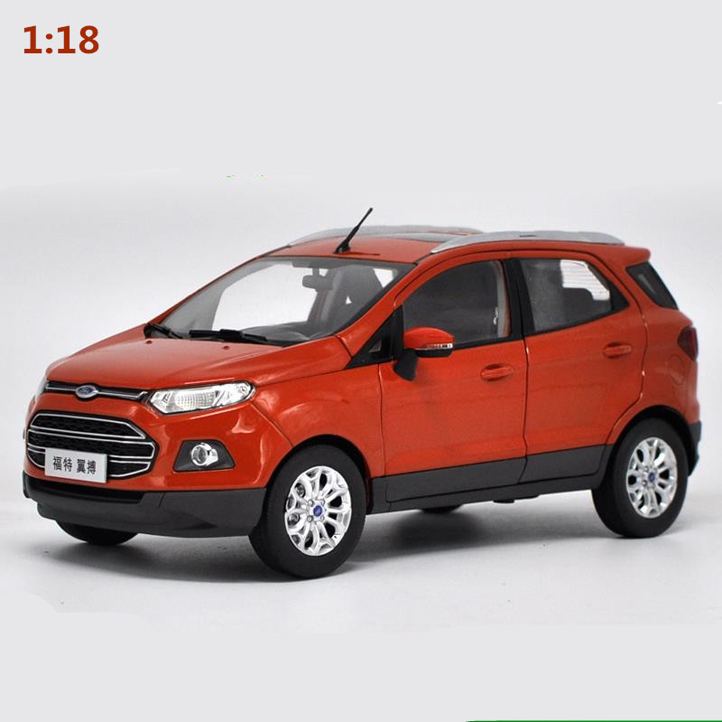 1:18 alloy car model,diecast metal model toy vehicle,High simulation FORD ECOSPORT SUV,Advanced collection model free shipping цена